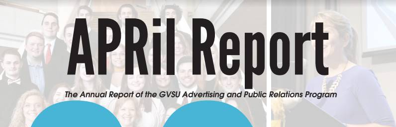 Photo of and link to a PDF of our 2020 AdPR annual report, the APRil Report.